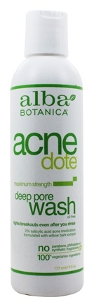 Alba Botanica - Natural ACNEdote Deep Pore Wash - 6 oz.