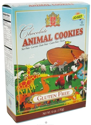 DROPPED: Josefs Gluten Free - Animal Cookies Chocolate - 6 oz. CLEARANCE PRICED
