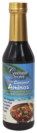 Coconut Secret - Raw Coconut Aminos Soy-Free Seasoning Sauce - 8 oz.
