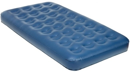 DROPPED: Pure Comfort - Twin Size PVC Air Bed 8505AB Blue