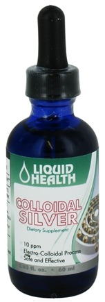 DROPPED: Liquid Health - Colloidal Silver Drops 10 Ppm - 2.03 oz. CLEARANCE PRICED