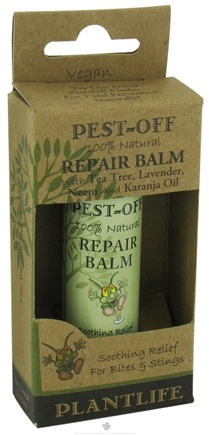 DROPPED: Plantlife Natural Body Care - Pest-Off Repair Balm - 0.5 oz. CLEARANCE PRICED