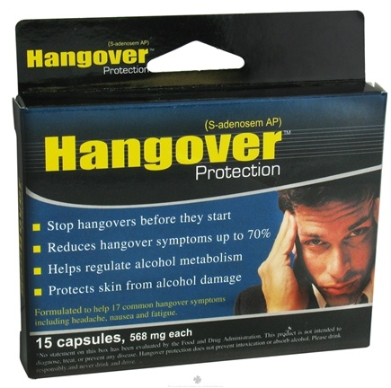 DROPPED: Heaven Sent - Hangover Protection - 15 Capsules