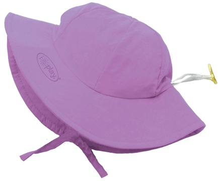 DROPPED: Green Sprouts - Solid Brim Sun Protection Hat Toddler 2-4 Years Lavender - CLEARANCE PRICED
