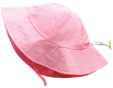 DROPPED: Green Sprouts - Solid Brim Sun Protection Hat Toddler 2-4 Years Light Pink - CLEARANCE PRICED