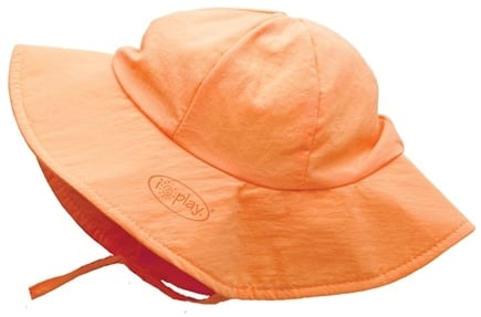 DROPPED: Green Sprouts - Solid Brim Sun Protection Hat Infant 6-18 Months Orange