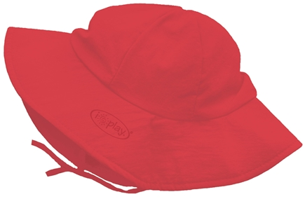 DROPPED: Green Sprouts - Solid Brim Sun Protection Hat Toddler 2-4 Years Red