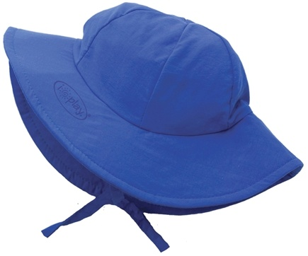 DROPPED: Green Sprouts - Solid Brim Sun Protection Hat Toddler 2-4 Years Royal Blue