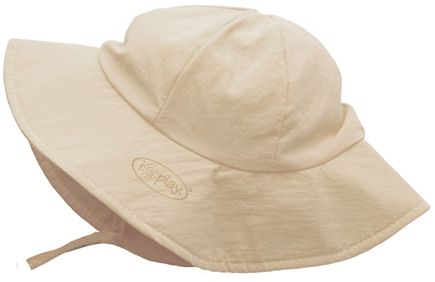 DROPPED: Green Sprouts - Solid Brim Sun Protection Hat Infant 6-18 Months Khaki