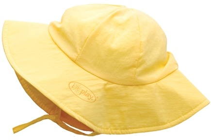 DROPPED: Green Sprouts - Solid Brim Sun Protection Hat Infant 6-18 Months Yellow - CLEARANCE PRICED