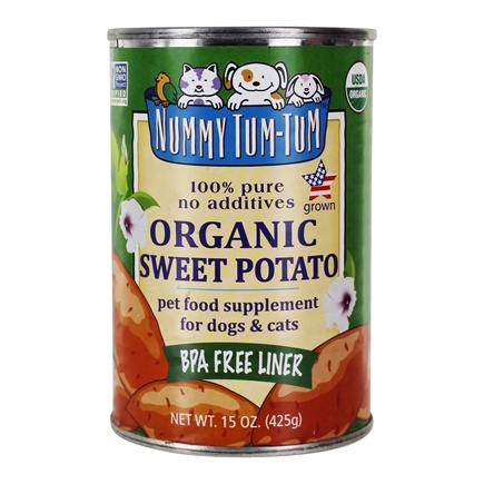 DROPPED: Nummy Tum-Tum - Pure Sweet Potato For Dogs 100% Organic - 15 oz. CLEARANCE PRICED