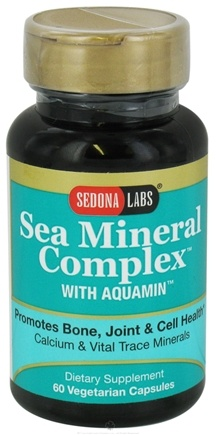 DROPPED: Sedona Labs - Sea Mineral Complex With Aquamin - 60 Vegetarian Capsules