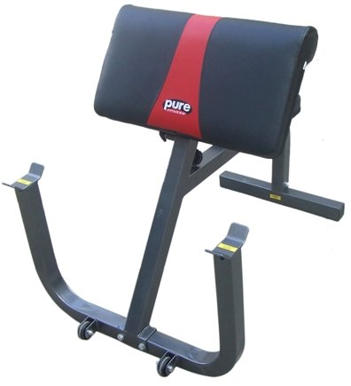 DROPPED: Pure Fitness - Preacher Curl Bench 8525PC Black/Red
