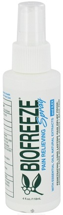 DROPPED: BioFreeze - Pain Relieving Spray - 4 oz.