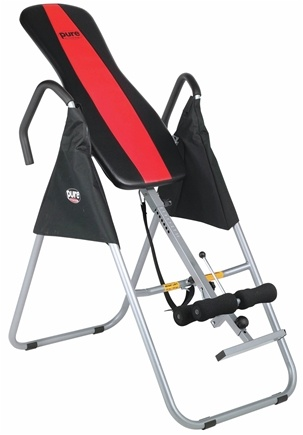 DROPPED: Pure Fitness - Inversion Table 8517IT Black/Red