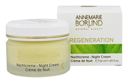 DROPPED: Borlind of Germany - Annemarie Borlind Natural Beauty LL Regeneration Night Cream - 1.69 oz. CLEARANCE PRICED