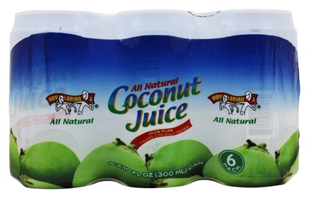 Amy & Brian - All Natural Coconut Juice 6 x 10 oz. Cans - 6 Pack