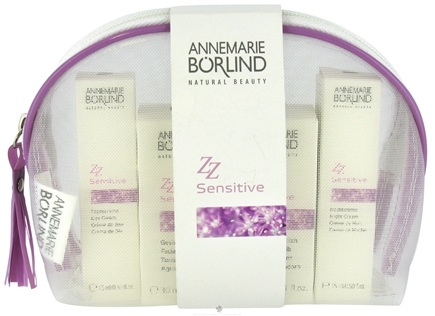 DROPPED: Borlind of Germany - Annemarie Borlind Natural Beauty ZZ Sensitive Travel Kit - 4 Piece(s) CLEARANCE PRICED