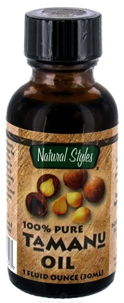 DROPPED: Natural Styles - Tamanu Oil 100% Pure - 1 oz.