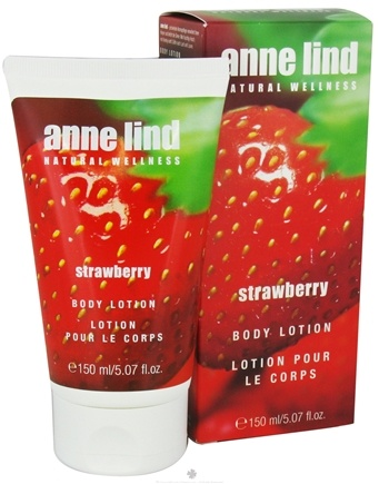 DROPPED: Borlind of Germany - Anne Lind Natural Wellness Body Lotion Strawberry - 5.07 oz. CLEARANCE PRICED