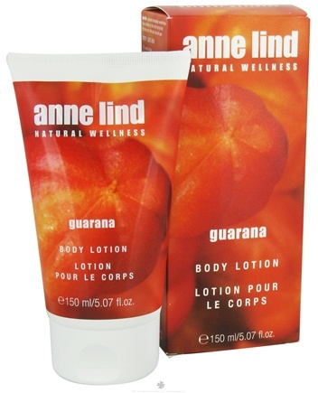 DROPPED: Borlind of Germany - Anne Lind Natural Wellness Body Lotion Guarana - 5.07 oz. CLEARANCE PRICED