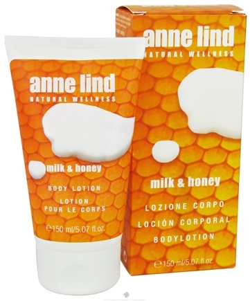 DROPPED: Borlind of Germany - Anne Lind Natural Wellness Body Lotion Milk & Honey - 5.07 oz. CLEARANCE PRICED