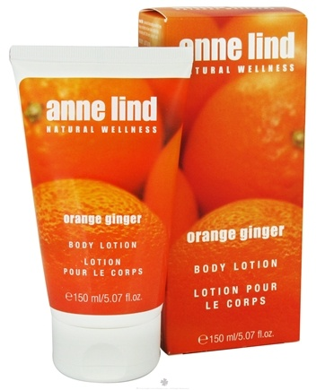 DROPPED: Borlind of Germany - Anne Lind Natural Wellness Body Lotion Orange Ginger - 5.07 oz. CLEARANCE PRICED