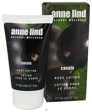 DROPPED: Borlind of Germany - Anne Lind Natural Wellness Body Lotion Cassis - 5.07 oz. CLEARANCE PRICED