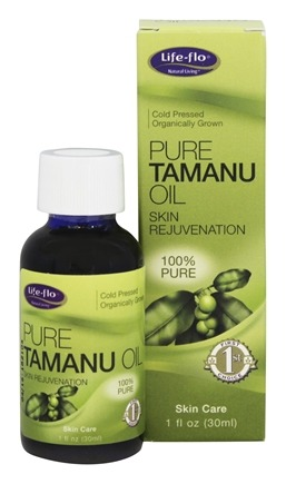 Life-Flo - Pure Tamanu Oil Cold Pressed - 1 oz.