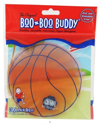 DROPPED: Boo Boo Buddy - Reusable Cold Pack Sport Designs Basketball - CLEARANCE PRICED