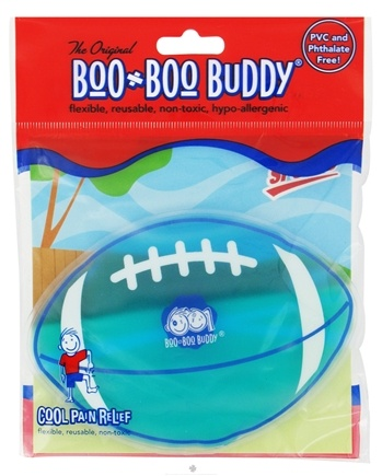 DROPPED: Boo Boo Buddy - Reusable Cold Pack Sport Designs Football - CLEARANCE PRICED