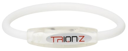 DROPPED: Trion:Z - Active Magnetic Ionic Bracelet Large White - CLEARANCE PRICED