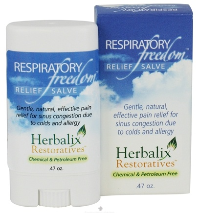 DROPPED: Herbalix Restoratives - Respiratory Freedom Relief Salve Travel Size - 0.47 oz. CLEARANCE PRICED