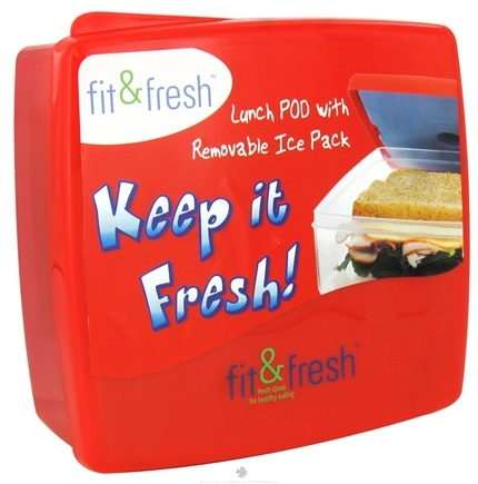 DROPPED: Fit & Fresh - Kids Lunch POD With Removable Ice Pack - CLEARANCE PRICED