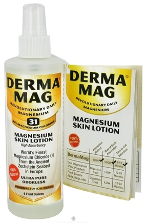 DROPPED: DermaMag - Magnesium Skin Lotion - 8 oz. CLEARANCE PRICED
