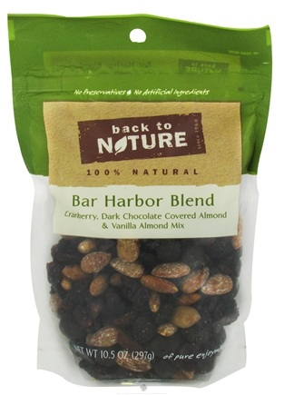 DROPPED: Back To Nature - Trail Mix Bar Harbor Blend - 10.5 oz. CLEARANCE PRICED
