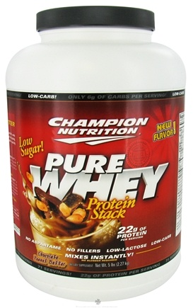 DROPPED: Champion Performance - Pure Whey Protein Stack Chocolate Peanut Butter - 5 lbs. CLEARANCE PRICED