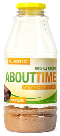 About Time - Whey Protein Isolate RTD Chocolate - 1 oz.