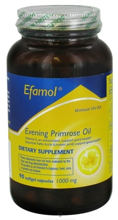 DROPPED: Efamol - Evening Primrose Oil 1000 mg. - 90 Softgels