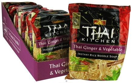 DROPPED: Thai Kitchen - Instant Rice Noodle Soup Thai Ginger & Vegetable without I&G - 1.6 oz.