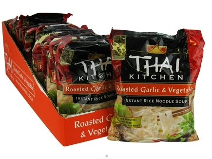 DROPPED: Thai Kitchen - Instant Rice Noodle Soup Roasted Garlic & Vegetable without I&G - 1.6 oz.