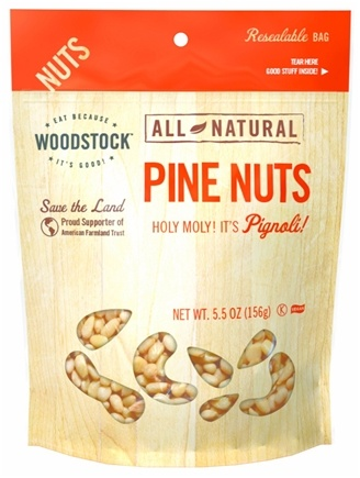 DROPPED: Woodstock Farms - Natural Pine Nuts - 5.5 oz.