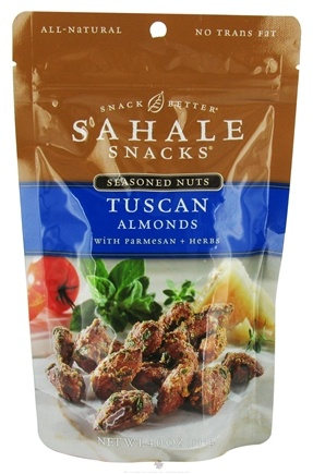 DROPPED: Sahale Snacks - Seasoned Nuts Almonds Tuscan With Parmesan + Herbs - 4 oz.