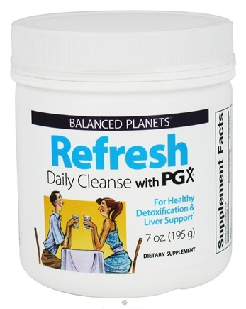 DROPPED: Natural Factors - Balanced Planets Refresh Daily Cleanse With PGX - 7 oz. CLEARANCE PRICED
