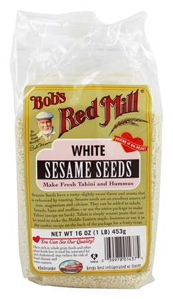 Bob's Red Mill - White Hulled Sesame Seeds - 16 oz.