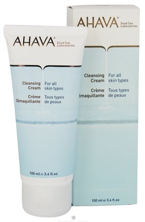 DROPPED: AHAVA - The Source Cleansing Cream For All Skin Types - 3.4 oz. CLEARANCE PRICED