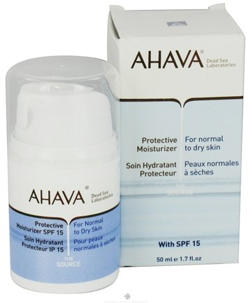 DROPPED: AHAVA - The Source Protective Moisturizer For Normal To Dry Skin 15 SPF - 1.7 oz.