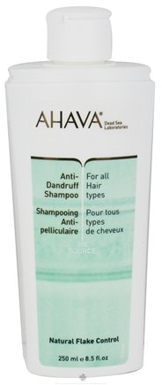 DROPPED: AHAVA - The Source Anti-Dandruff Shampoo For All Hair Types - 8.5 oz.