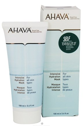 DROPPED: AHAVA - The Source Intensive Hydration Mask For All Skin Types - 3.4 oz.