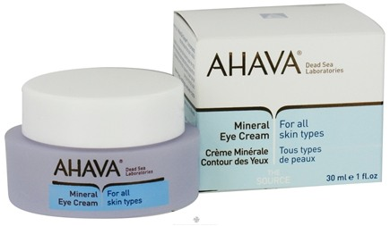 DROPPED: AHAVA - The Source Mineral Eye Cream For All Skin Types - 1 oz. CLEARANCE PRICED